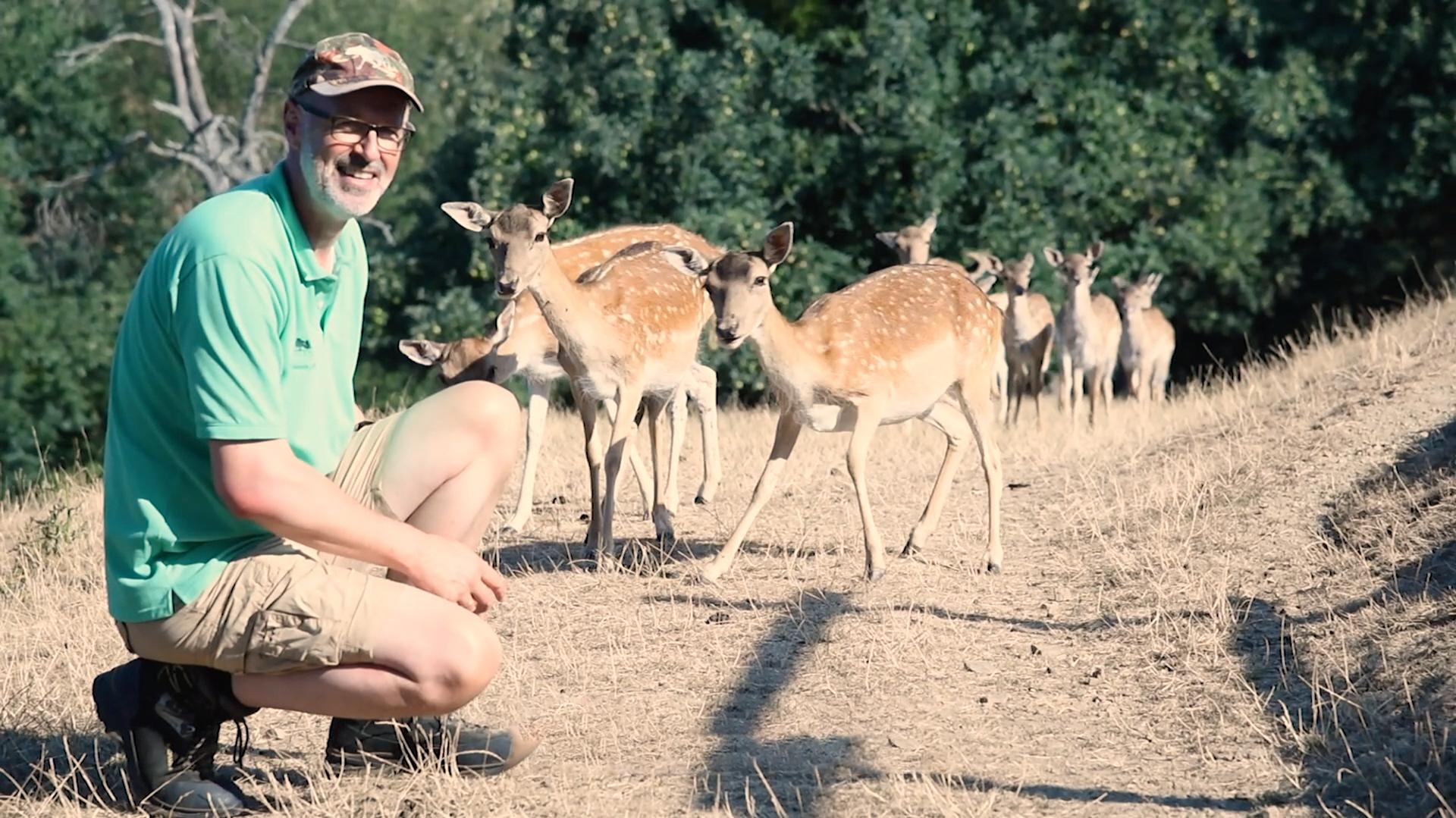Peter Wohlleben Weißt du wo die Tiere wohnen Oetinger Verlag © nXm film production