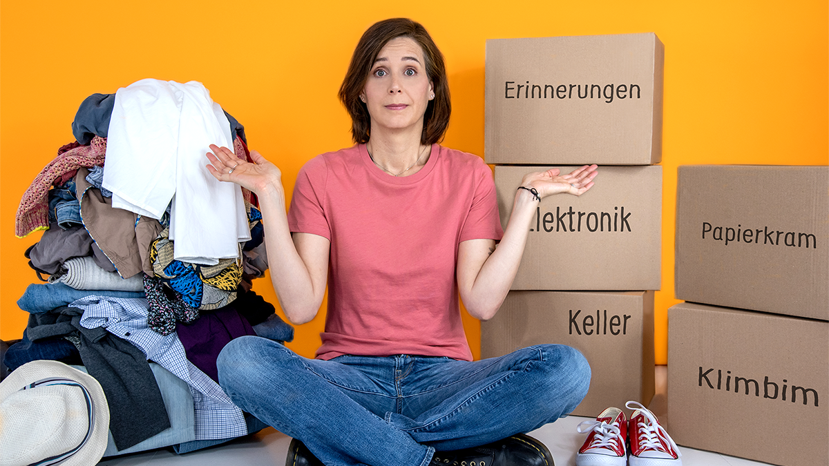 Trailer Mein Leben in drei Kisten von Anne Weiss Knaur