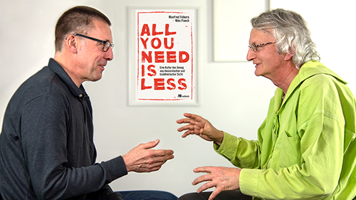 Niko Paech und Manfred Folkers All you need is less oekom Verlag